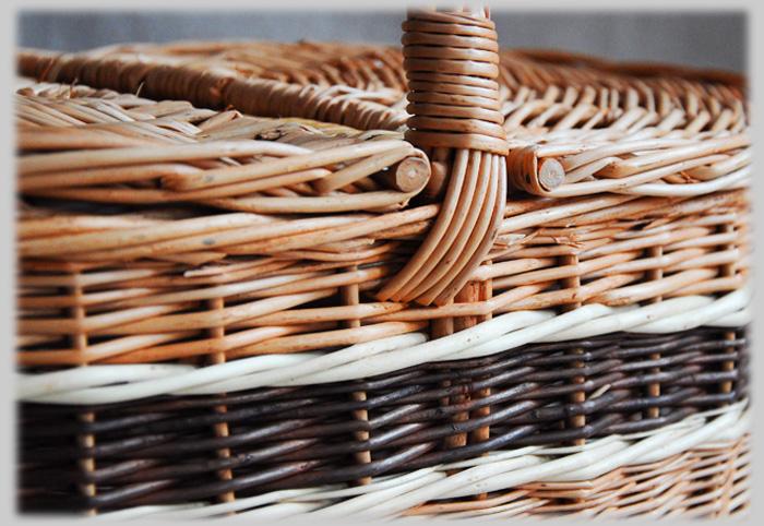 picknickkorb einkaufskorb weidenkorb pr sentkorb weide korbgeflecht deckel ebay. Black Bedroom Furniture Sets. Home Design Ideas